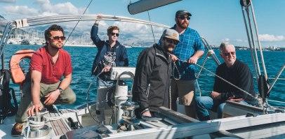 Sailing the St. Brendan in Croatia with the YWAM Croatia base leader, Jarod.